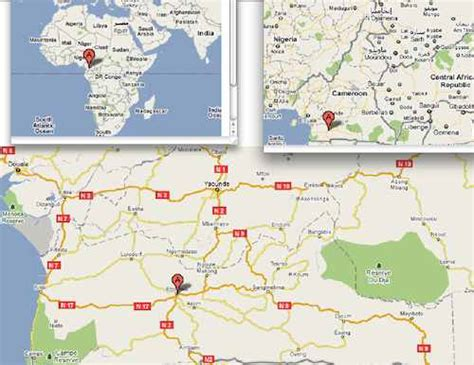 ebolowa   ebolowa located   map