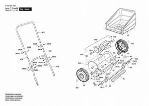 Qualcast Panther 30  F016001042  Lawnmower Diagram 1 Spare