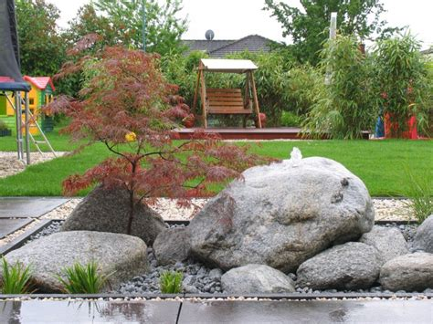 Quellstein Japanischer Garten by Japangarten Mit Modernen Elementen