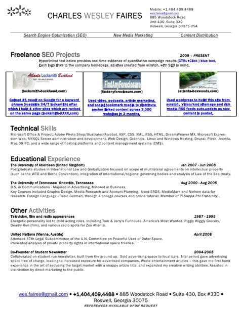 resume search engine resume ideas