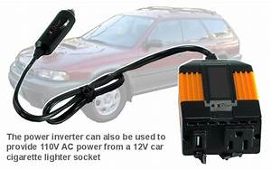 Convert Battery Powered Light To Ac Portable 110v Ac Power Pack Powered By 192wh Battery
