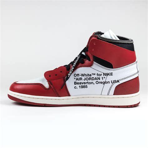Nike X Off White Air Jordan 1 Chicago Red Crepslocker