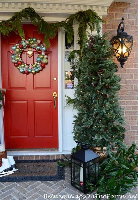 decorating  porch  christmas bnotp christmas