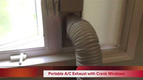 Portable Air Conditioner With Crank / Casement Windows