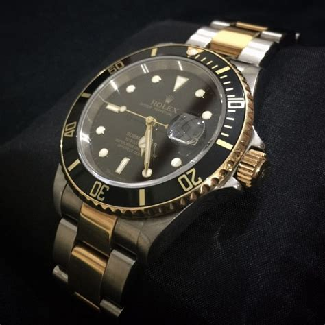 rolex submariner two tone steel yellow gold blue top quality black rolex submariner replica
