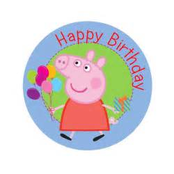 in cake toppers peppa pig birthday edible image shore cake supply