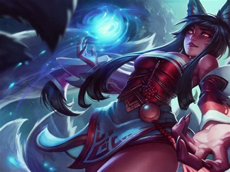 league  legends ahri   tailed fox abilities fox