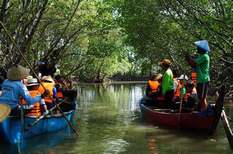 menjelajahi alam melalui ekowisata hutan mangrove tapak
