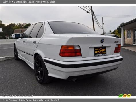 1997 Bmw 3 Series 318i Sedan In Alpine White Photo No