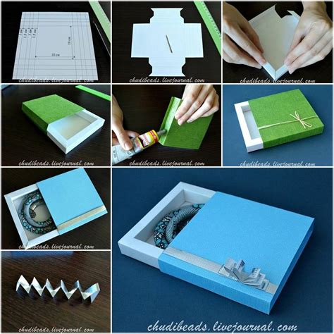 how to make square gift box step by step diy tutorial