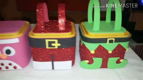 dulceros navidenos dulceros navide 241 os super facil y chulisimos youtube