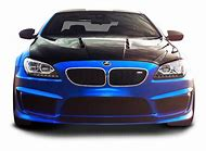 Blue BMW Sports Car