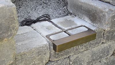 low voltage led landscape lighting wiring how to install retaining wall lights volt lighting