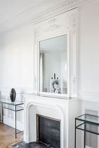 Ramoner Soi Même Sa Cheminée Assurance : paris 7 me combo chemin e moulures miroir ~ Premium-room.com Idées de Décoration