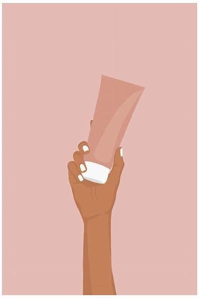 Tube Skin Care Cream Aesthetic Hjc Illustrations