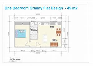 granny flat building plans south africa with 1 bedroom With plan of 1bed room flat