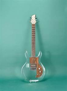 """Another dream Dave Grohl guitar: 2002 Ampeg Lucite """"Clear ..."""