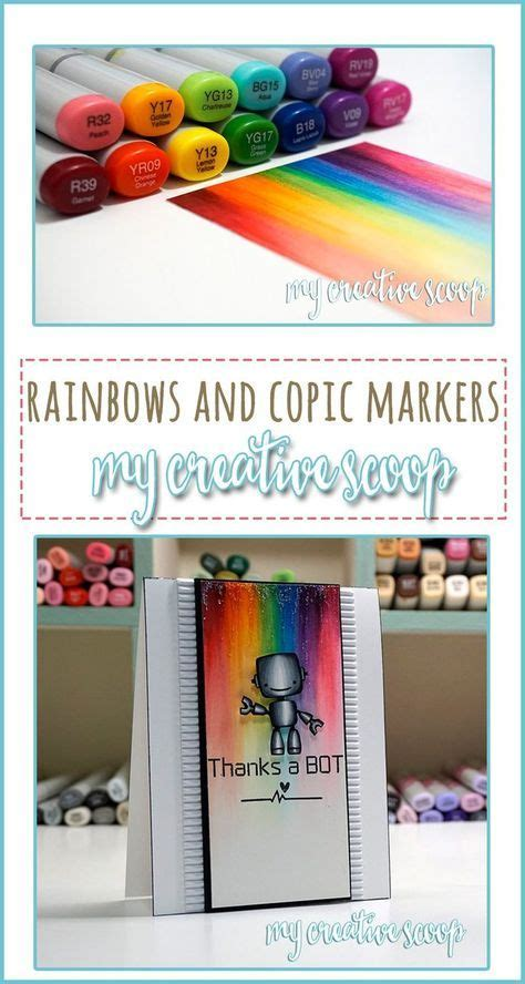 Coloring Using Copic Markers by Coloring A Rainbow Using Copics Copic Coloring Copic