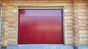 renov39habitat pose d39une porte de garage sectionnelle With pose d une porte de garage sectionnelle motorisée