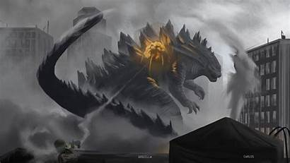 Godzilla Wallpapers Maya Fire Carlos Navarro Alan