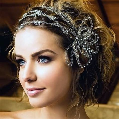 Wedding Hairstyle Short Curly Hair Best Pictures : Fashion