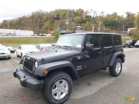 car jeep black 2015 jeep wrangler unlimited sport 4x4 in black 556343