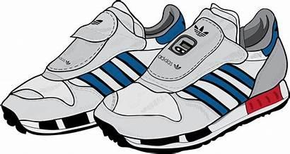Shoes Clipart Adidas Transparent Running Shoe Cartoon