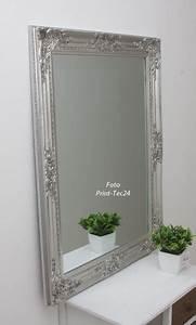 Wandspiegel Barock Silber : wandspiegel aus holz barock design silber spiegel ebay ~ Whattoseeinmadrid.com Haus und Dekorationen