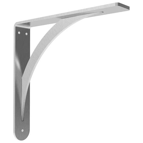 Countertop Brackets Lowes by Federal Brace Brunswick Countertop Bracket 24x24 Stainless