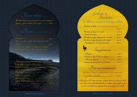Carte De Visite Restaurant Marocain by Restaurant L Aladin Www Mad System