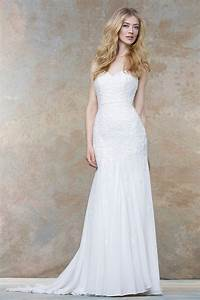 ivory strapless sweetheart crafted lace and chiffon With chiffon and lace wedding dress