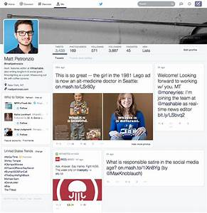 Twitter Still Testing and Changing Profile Redesign