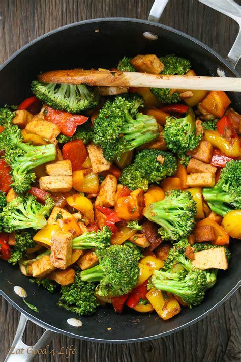 tofu stir fry quick veggie tofu stir fry