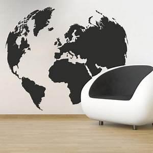 Carte Du Monde Deco Murale : 1000 id es propos de carte du monde deco sur pinterest ~ Dailycaller-alerts.com Idées de Décoration