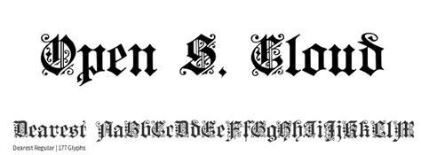 monogram fonts  designers