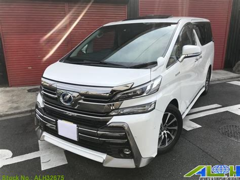 Toyota Vellfire Backgrounds by 3172 Japan Used 2018 Toyota Vellfire For Sale Auto Link