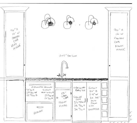 Basement Bar Measurements by Bar Layout My Sad Attempt At An Architectural