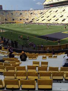 Lsu Tiger Stadium Seating Chart View Tiger Stadium Section 408 Rateyourseats Com
