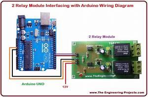 2 Relay Module Interfacing With Arduino