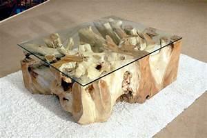Wurzelholz Tisch Mit Glasplatte : wurzeltisch der tischonkel ~ Bigdaddyawards.com Haus und Dekorationen