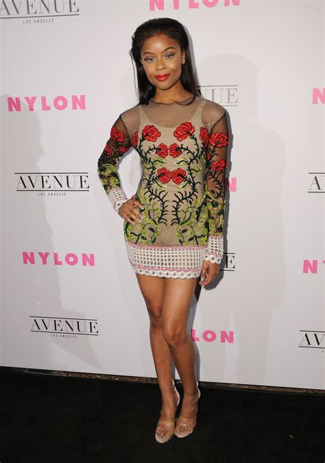 ajiona alexus nylon young hollywood party  la