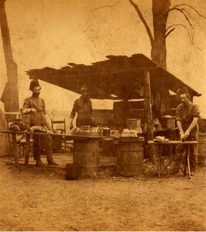 Kitchen Civil Camp War History Cooks York
