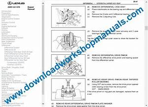 Lexus Gx 470 Service Repair Workshop Manual