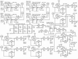Stereo Mixer Expanding For More Input Channels
