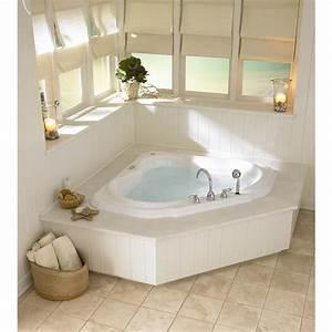 Bathtubs Idea Awesome Corner Jacuzzi Tub Alcove Bathtub