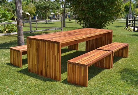 Wooden Outdoor Furniture by Wooden Outdoor Furniture To Enjoy The Sun Carehomedecor