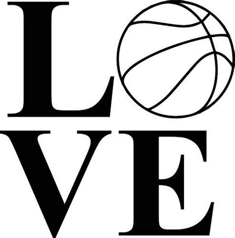 love basketball love  basketball cricut cricut design