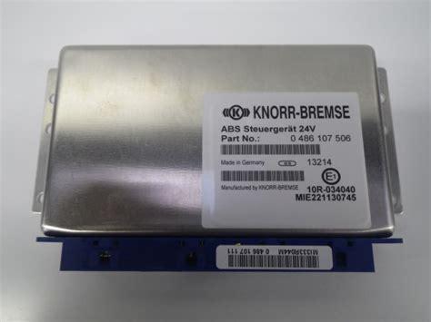 New Knorr Bremse Electronic Control Unit (ecu