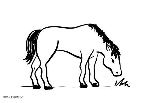 disegni da colorare di disegni di cavalli da colorare portale bambini