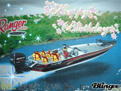 Happy Boat by Ranger Bass Boat Happy Birthday Picture 30515368